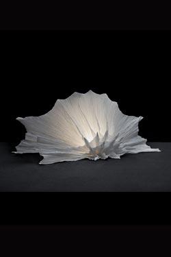 Lampe Gorgone petit modèle. Les artisans d'art.