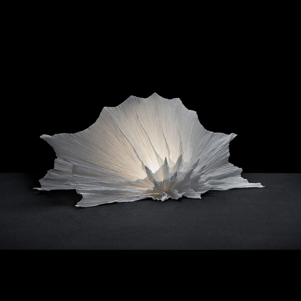 Lampe Gorgone petit modèle. Les artisans d