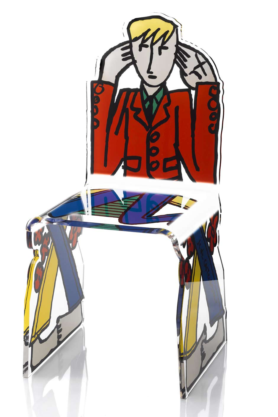 fauteuil ecoute en plexiglas acrila sp cialiste du plexiglas r f 11030461. Black Bedroom Furniture Sets. Home Design Ideas