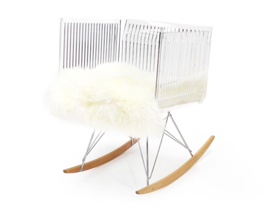 fauteuil cali barreaux poil bascule acrila sp cialiste du plexiglas r f 15090218. Black Bedroom Furniture Sets. Home Design Ideas