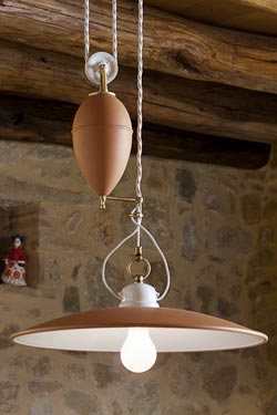En ContrepoidsAldo Terracotta À Suspension Porcelaine Bernardi VqULpSzMG