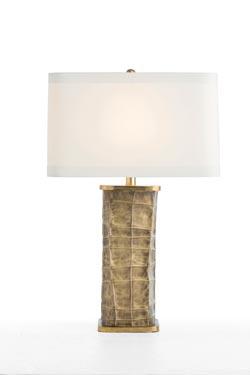 Lampe grand abat-jour ivoire Seville. Arteriors.