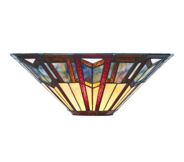 Art Déco applique évasée style Tiffany . Artistar.