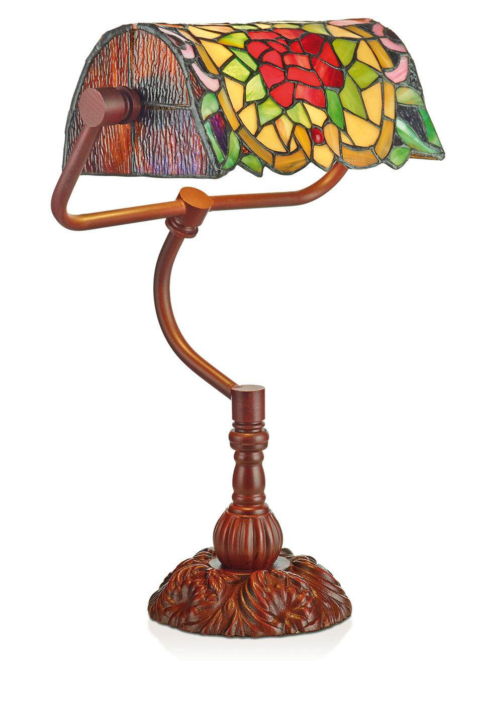 Lampe de bureau bibliothèque Tiffany. Artistar.