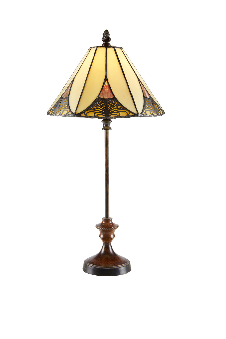 petite lampe art d co tiffany par artistar r f 18020075. Black Bedroom Furniture Sets. Home Design Ideas