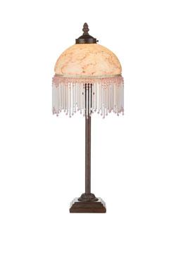Petite lampe de table Méduse rose. Artistar.