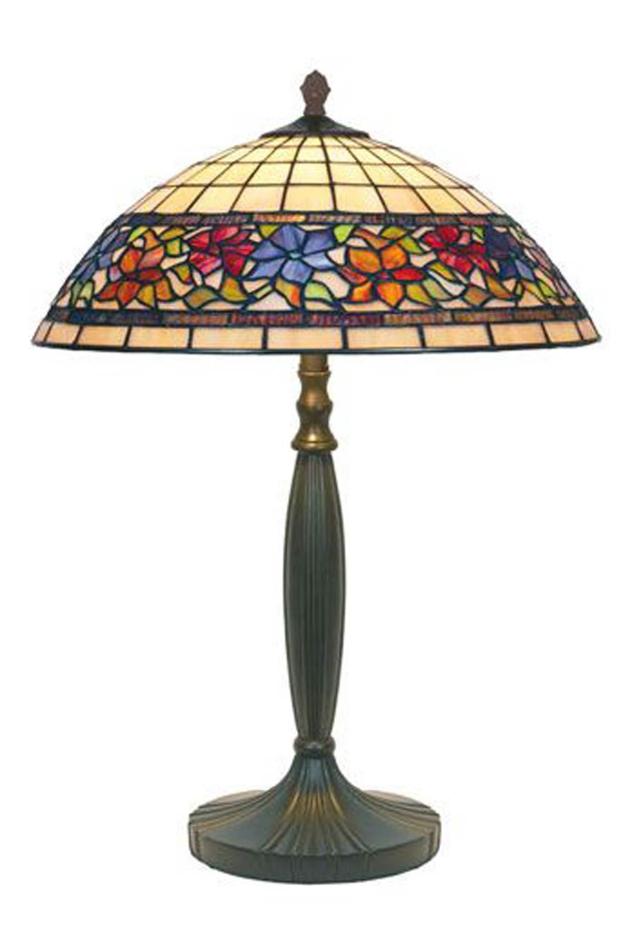 violette lampe style tiffany fleurs moyen mod le par artistar r f 11090459. Black Bedroom Furniture Sets. Home Design Ideas