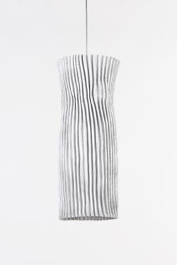 Applique en tissu plissé Simetech blanc plissé Gea. Arturo Alvarez.
