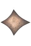 Applique ou plafonnier gris en tissu Simetech Kite. Arturo Alvarez.