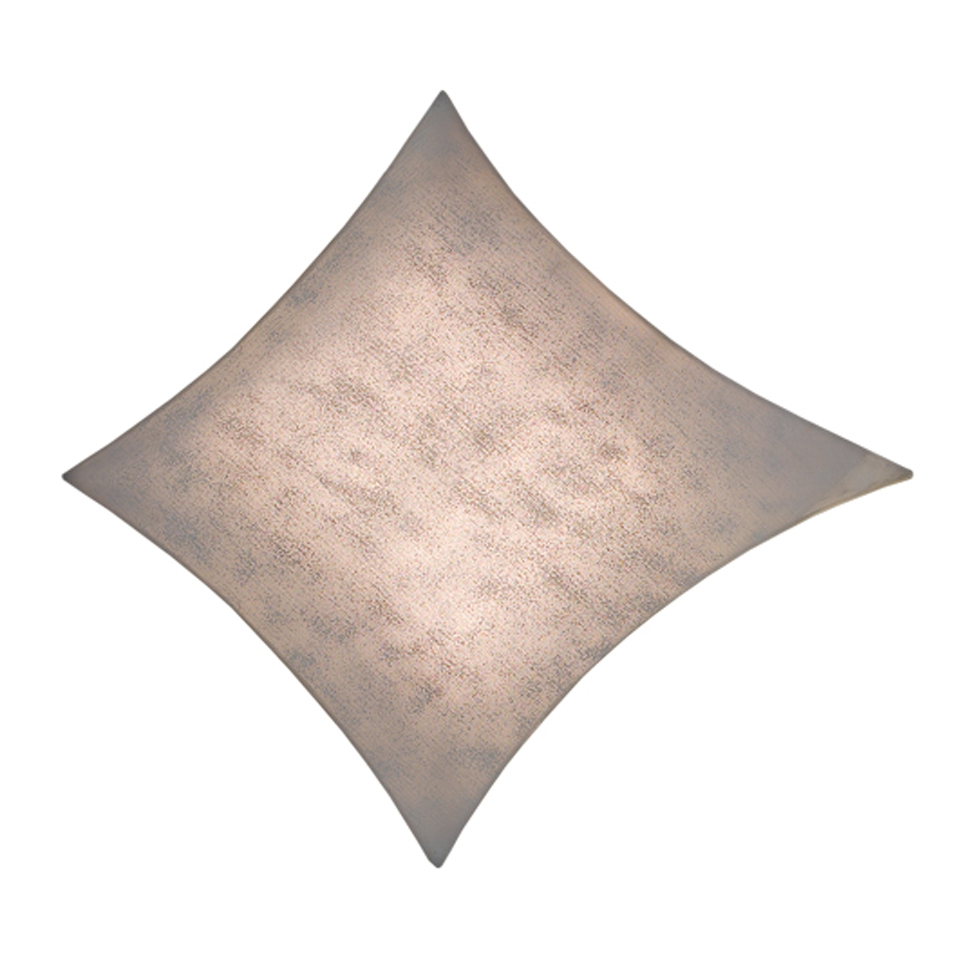Grande applique ou plafonnieren tissu Simetech gris Kite . Arturo Alvarez.