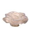 Lampe de table fleur blanche en tissu Simetech Nevo . Arturo Alvarez.