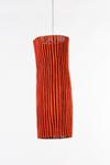 Suspension en tissu plissé rouge Simetech  Gea. Arturo Alvarez.