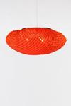 Suspension rouge en tissu siliconé Simetech  Tati . Arturo Alvarez.