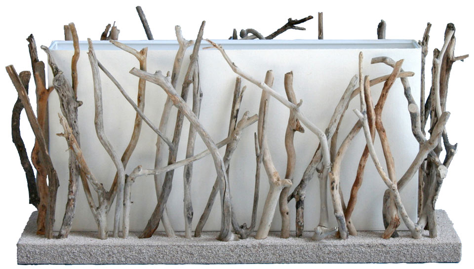 Itakoué lampe de table grand modèle par l\'Atelier du Bois Flotté ...