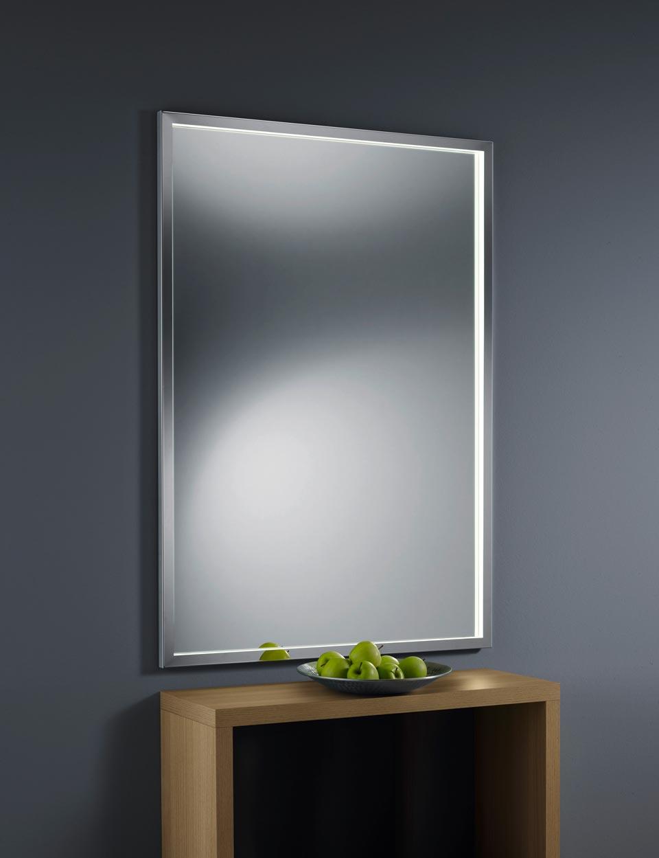 Miroir Eclairant Salle De Bain miroir lumineux pour la salle de bain, protection ip44