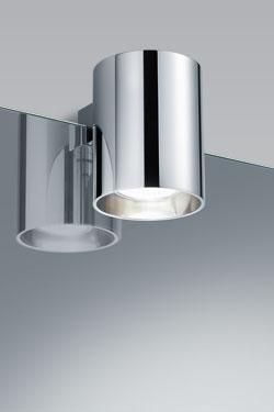 Clip R spot de salle de bains section ronde. bpe:LICHT.