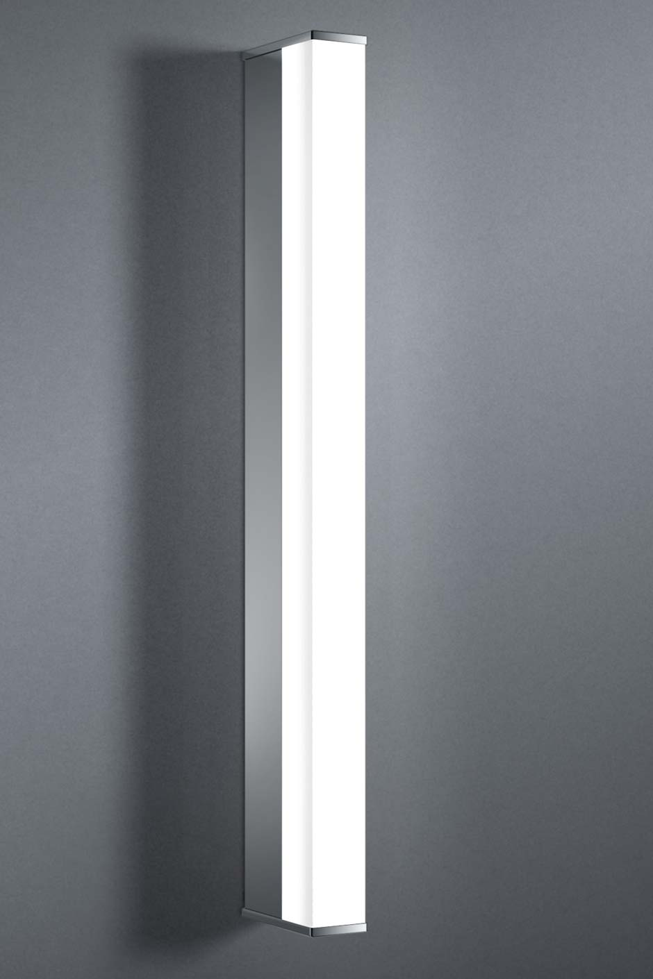 Pure e applique simple led 10w tube section carr e 58cm for Luminaire design salle de bain