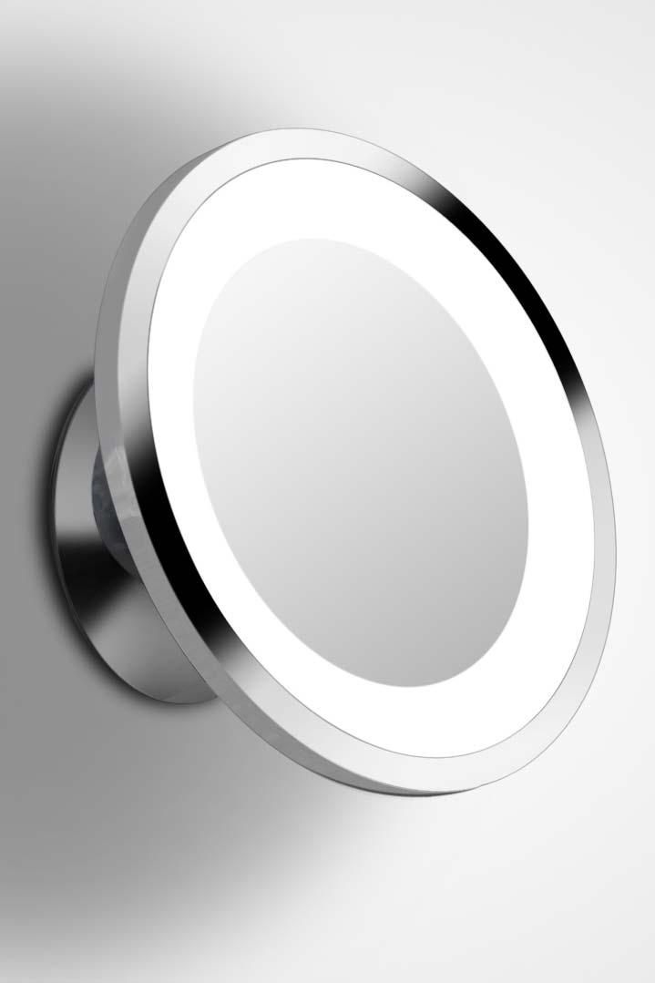 shaver led 1 miroir rond mural par bpe licht r f 11090083. Black Bedroom Furniture Sets. Home Design Ideas