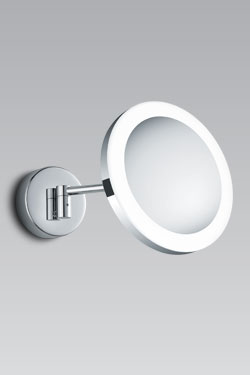 Miroir grossissant et lumineux rond KSP R2. bpe:LICHT.