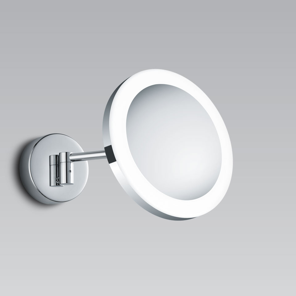 Miroir Eclairant Salle De Bain miroir grossissant orientable et éclairage led