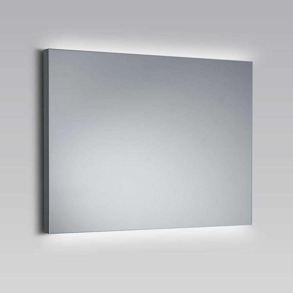 Miroir Eclairant Salle De Bain miroir rectangulaire à éclairage led, disponible en 4 tailles