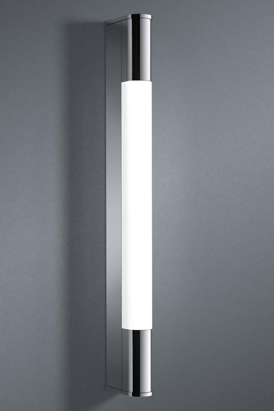 Pure +R applique tube section ronde 58cm. bpe:LICHT.