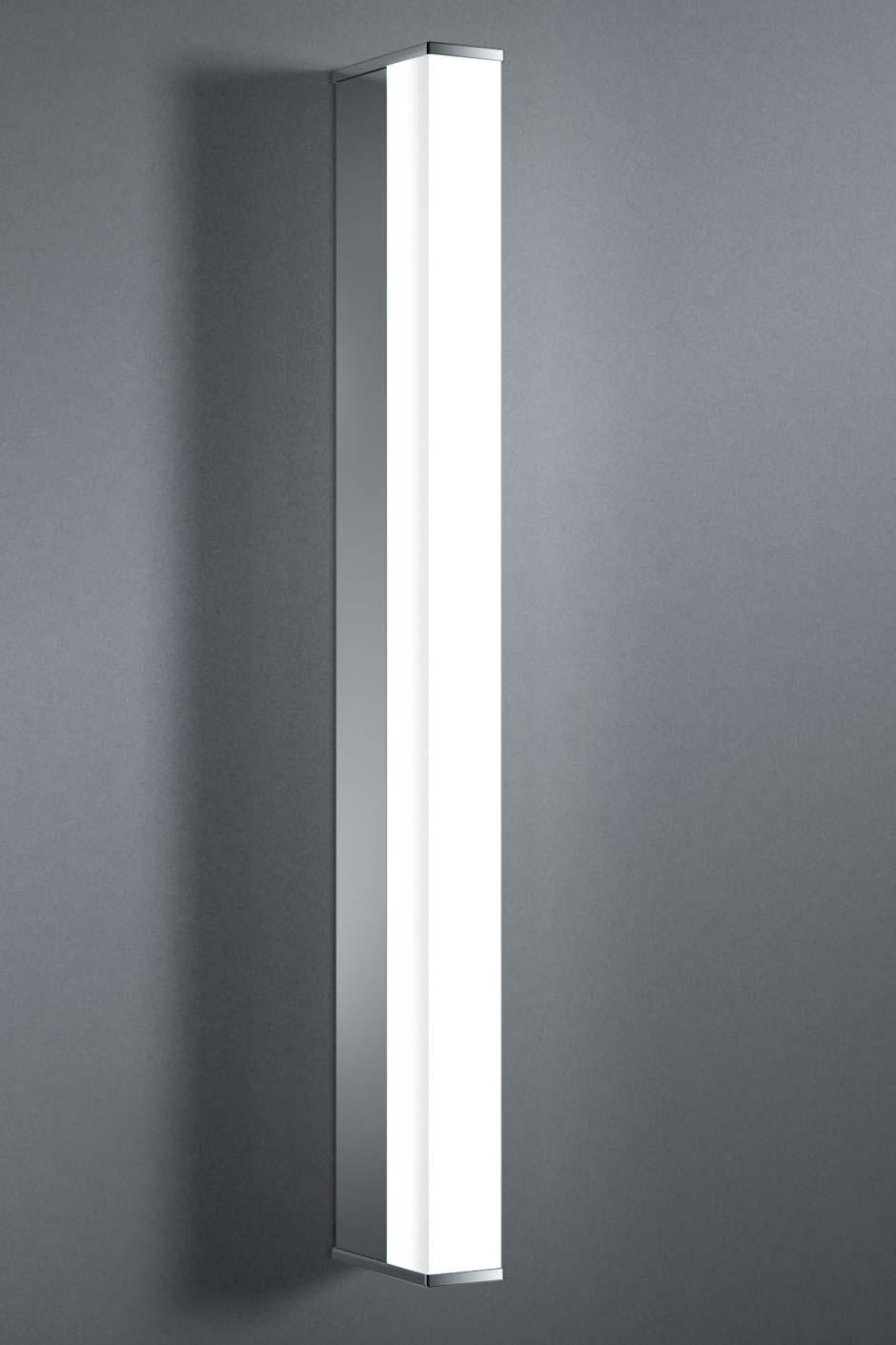 Pure E applique simple LED 13W tube section carrée 60cm. bpe:LICHT.