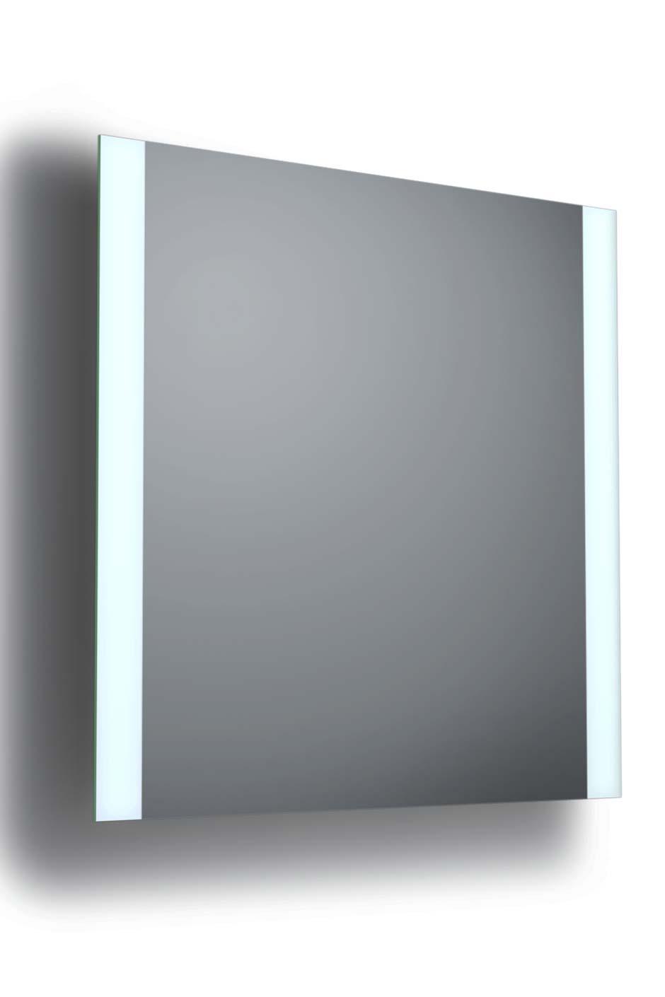 Side 2 miroir éclairé de 2 côtés 60x60cm. bpe:LICHT.