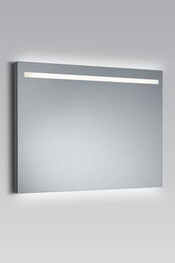 Straight UC+ miroir lumineux à éclairage LED 100cm. bpe:LICHT.