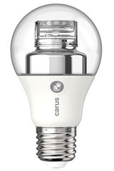 Dim by Click LED bulb, 2700K, high quality. Carus.