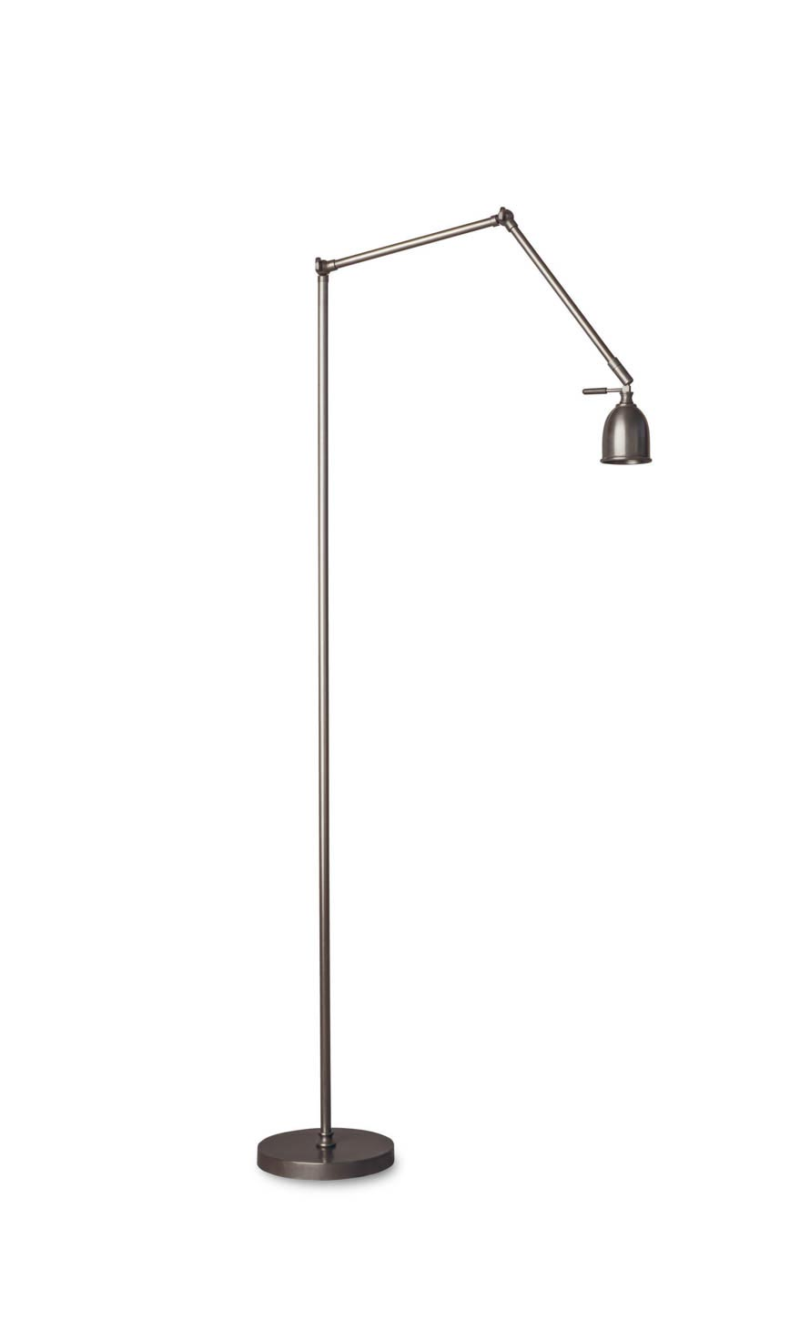 Articulated reading lamp patinated bronze finish LD71 LED lighting. Casadisagne.