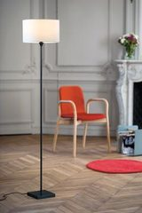 Slim floorlamp  in brass LD12. Casadisagne.