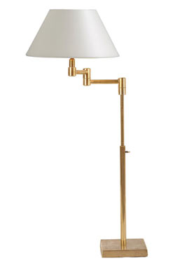 L93 lampe à poser doré mat . Casadisagne.