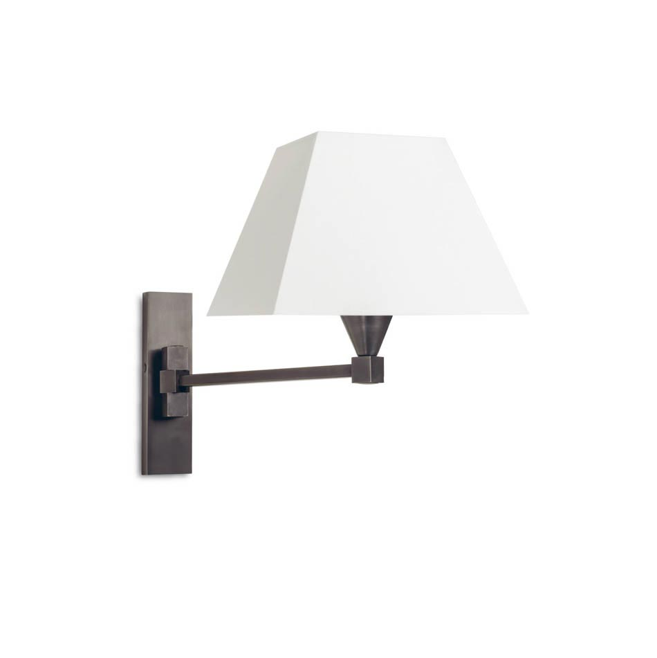 AL2250 bronze articulated arm wall lamp. Casadisagne.
