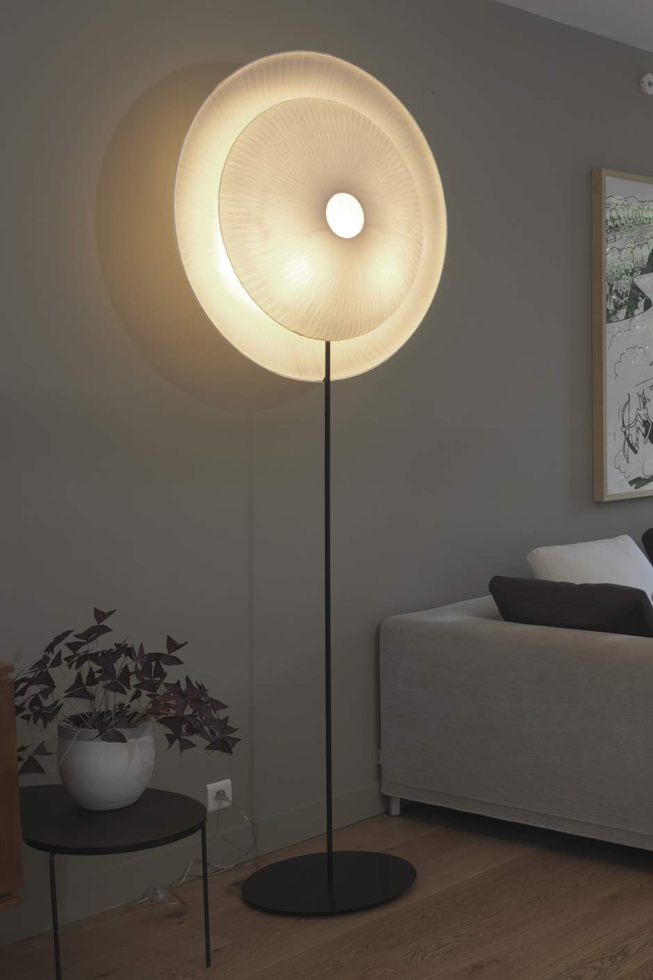 Lampe Suspension Papier Design design floor lamp in japanese paper