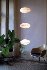 Point de suspension hanging lamp. Céline Wright.