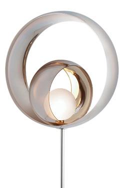 Alliance lampadaire métalisé. Concept Verre.