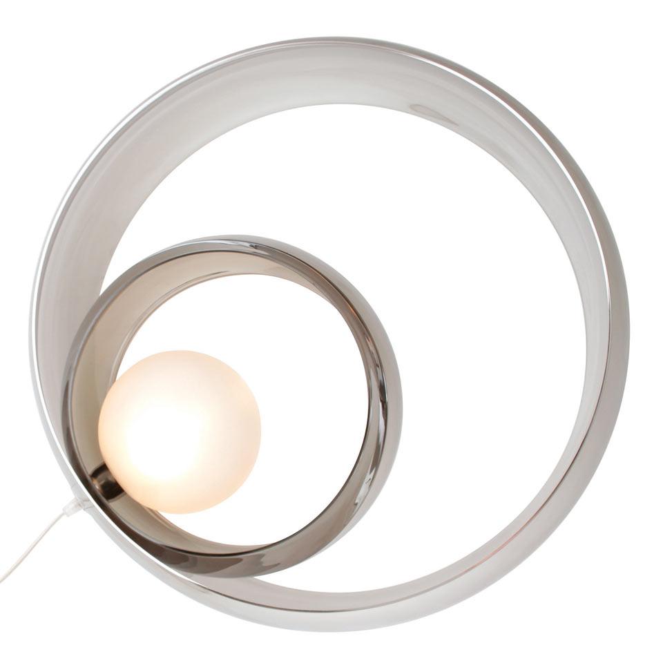 Alliance LAMPE A POSER métalisée. Concept Verre.