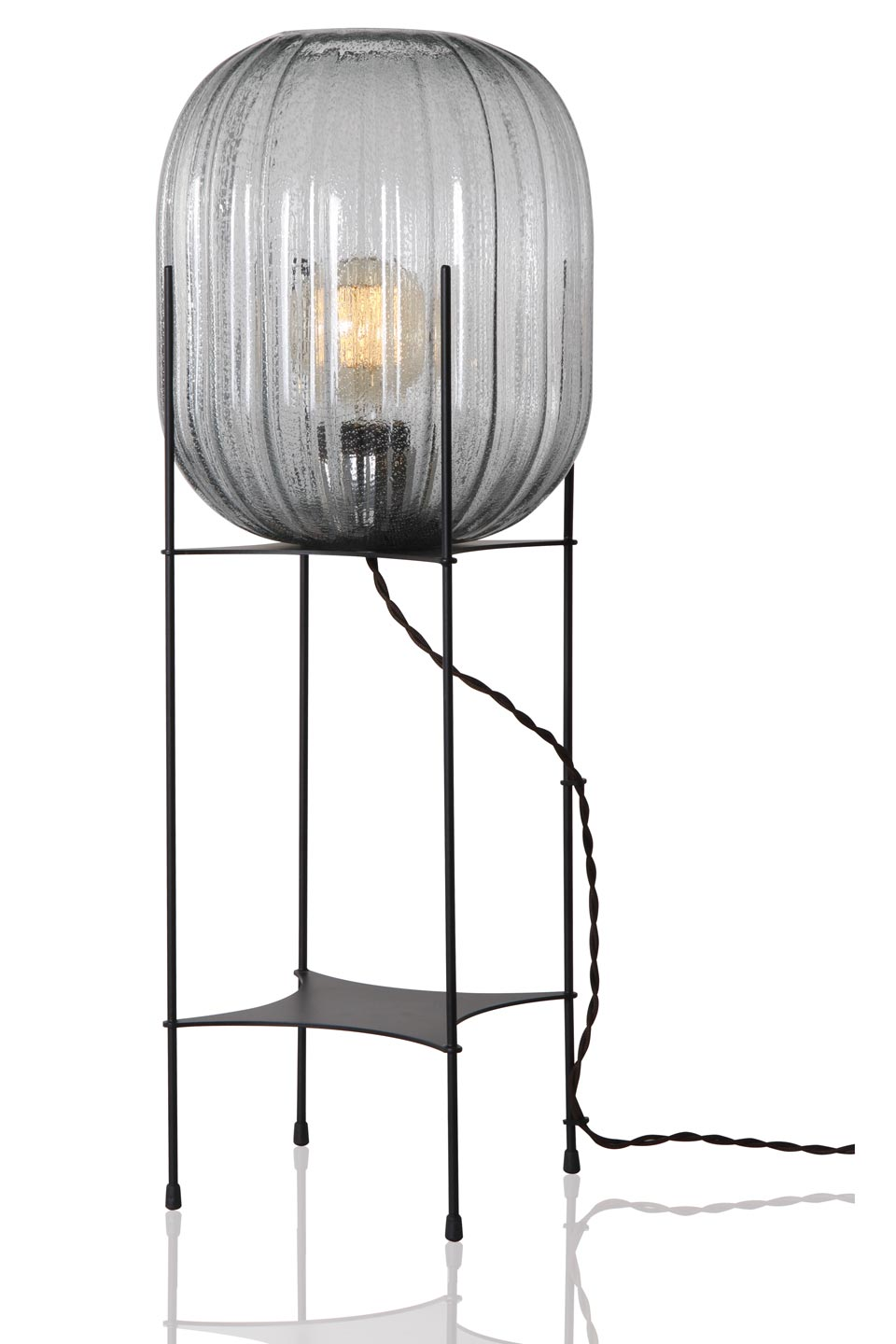 Hammam small floor lamp model M. Concept Verre.