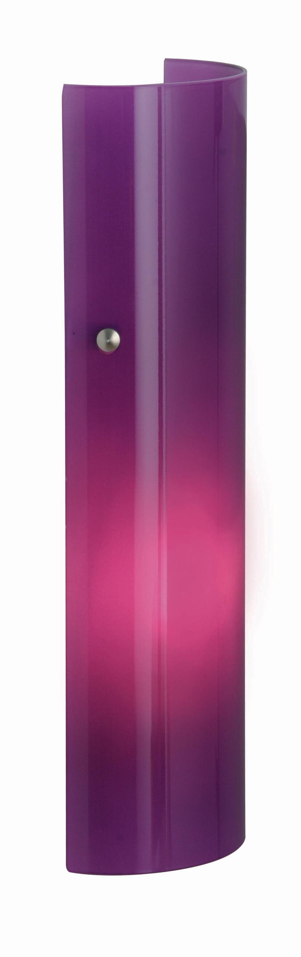 Lux Men applique verrerie violette. Concept Verre.