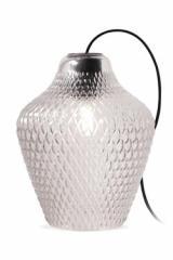 API Lampe De Table Verre Transparent. Concept Verre.