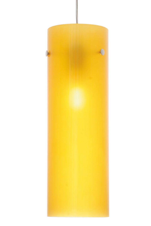 Lux Men suspension simple jaune. Concept Verre.