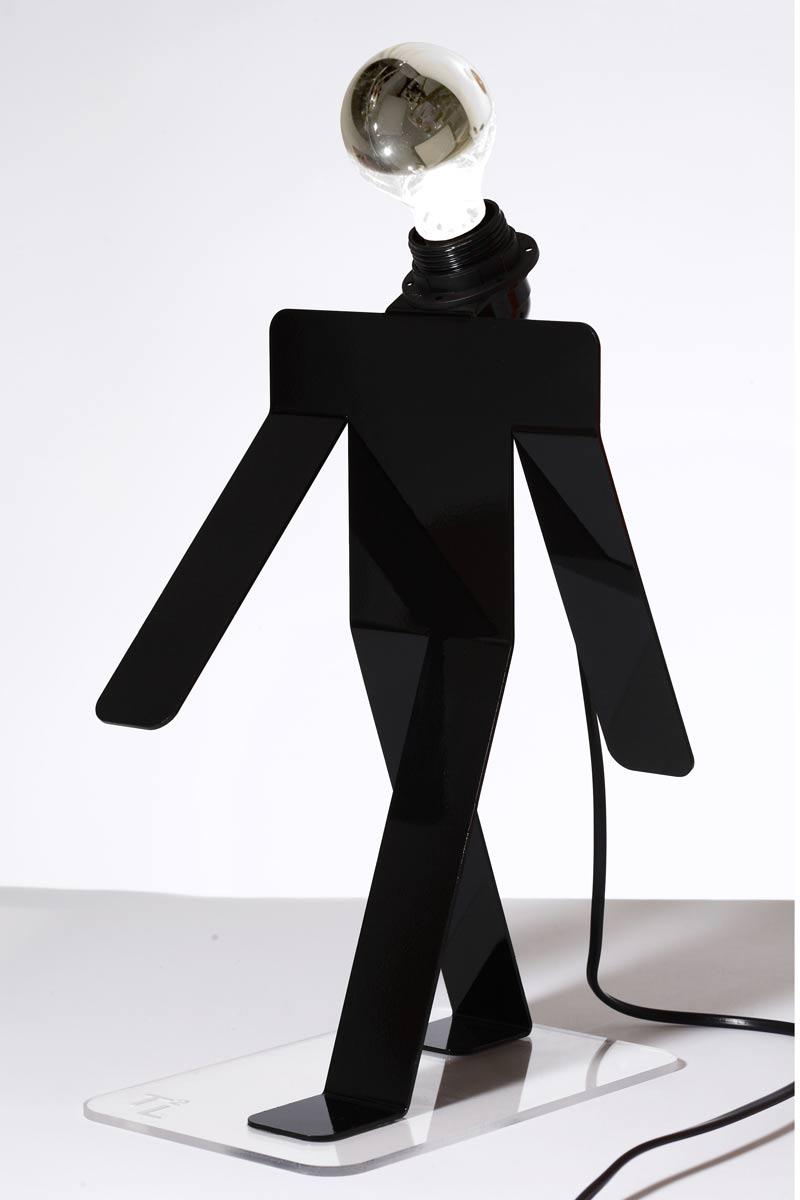 Moonwalk noir. Concept Verre.
