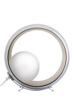 Okio Small LAMPE A POSER verrerie métallisée. Concept Verre.