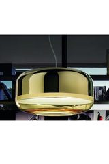 Alchemist XL gold suspension. Concept Verre.