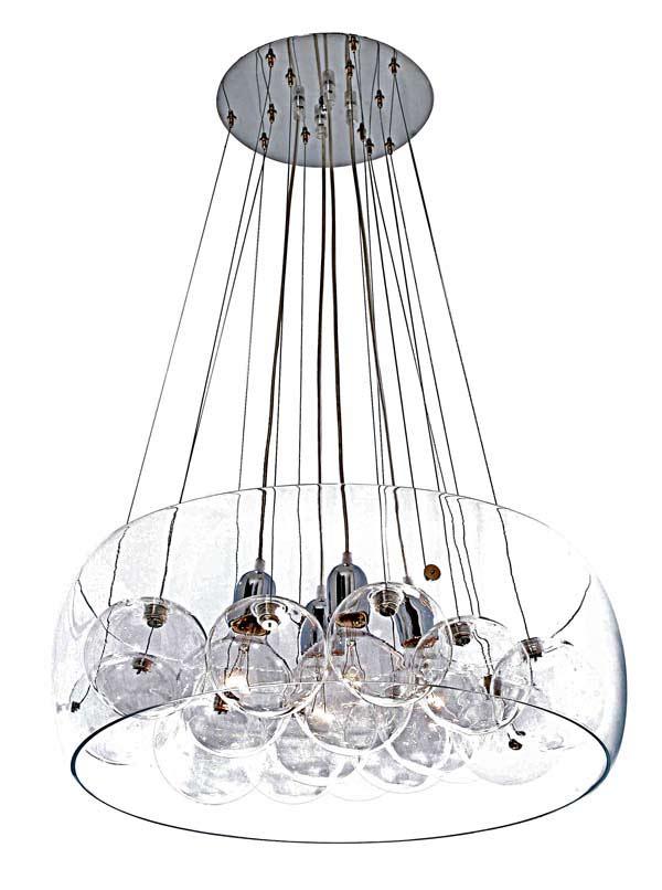 resonnance 10 boules et ampoules tendance verre transparent design suspension 09100119R Résultat Supérieur 15 Frais Suspension Luminaire En Verre Transparent Photos 2017 Ksh4