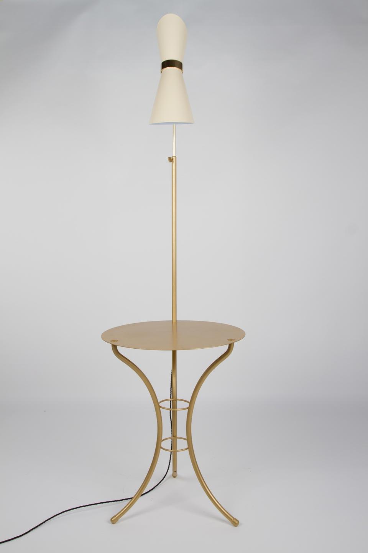 Vintage Gilt Table Lamp