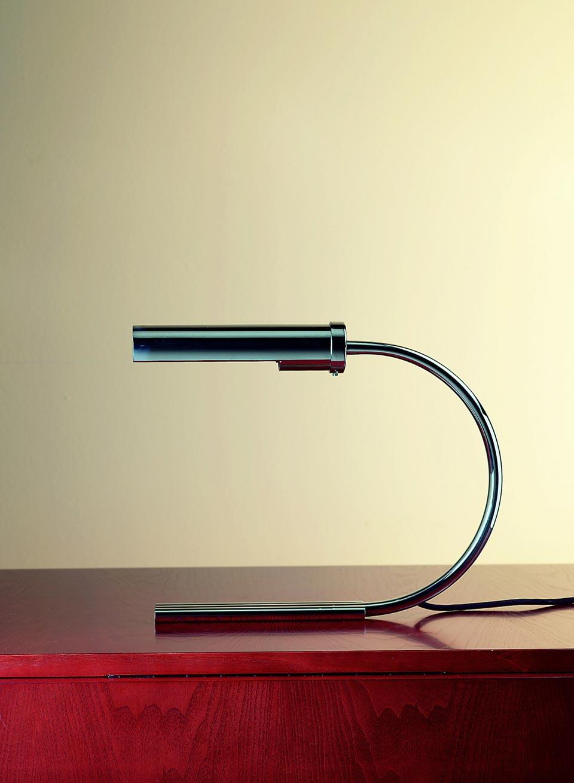Lampe De Bureau Annee 30 Chromee Contract More Lampe De Bureau
