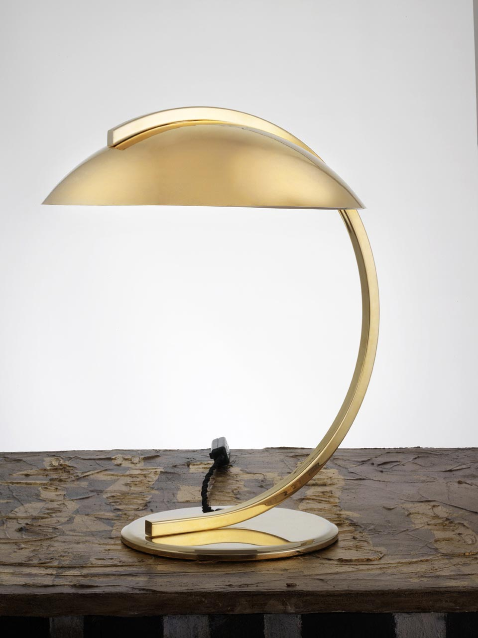 Bauhaus 1930 Polished Brass Table Lamp Contract More Lampe De Table Ref 17060001