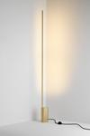LINK lampadaire ultra-design, base hexagonale et éclairage LED. CVL Luminaires.